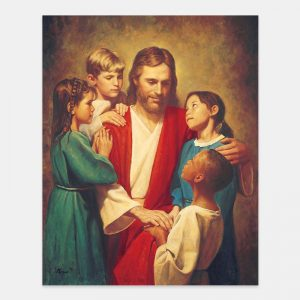 christ-and-children-from-around-the-world-painting-by-del-parson