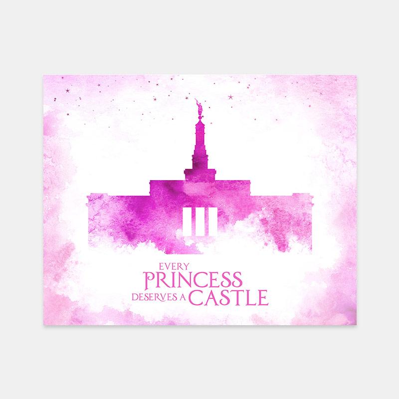 Detroit Temple – Princess Castle Print