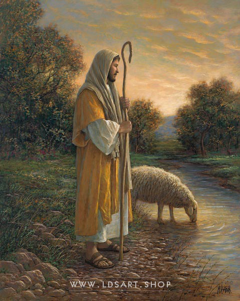 Finding The One – Painting by Jon McNaughton Print