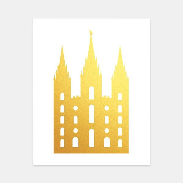 gold-foil-silhouette-temple-picture