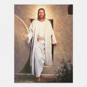 he-is-risen-painting-by-del-parson