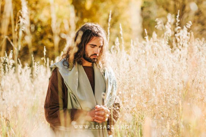 Jesus Christ – A Moment with Christ Print