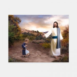 jesus-christ-following-in-his-footsteps-painting-by-brent-borup