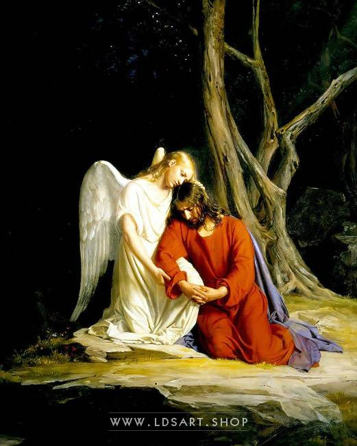 Lds Pictures Of Christ In Gethsemane