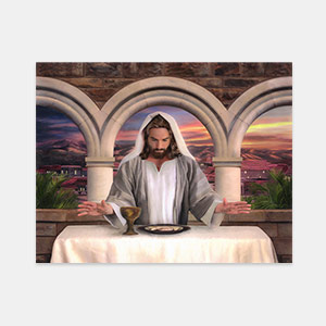 Jesus Christ - In Remembrance Painting