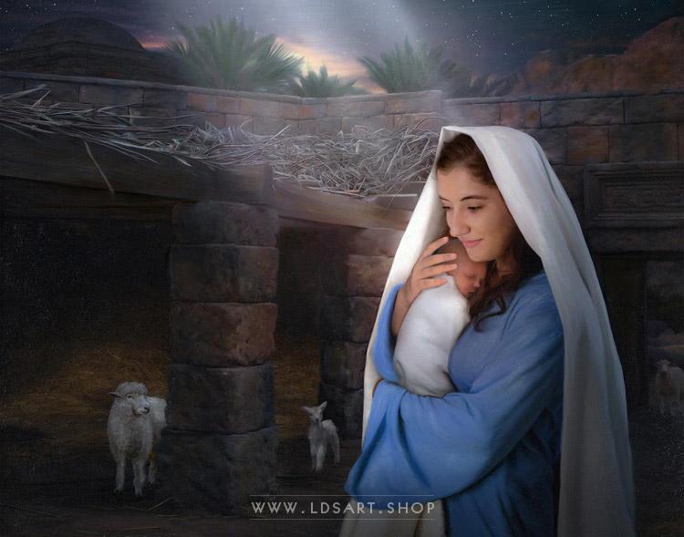 Jesus Christ - Lamb of God Painting