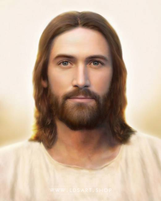 Jesus Christ – Light Of The World – Painting Print