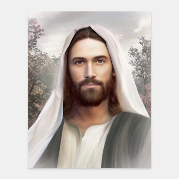 jesus-christ-painting-resurrection-and-the-life-by-brent-borup
