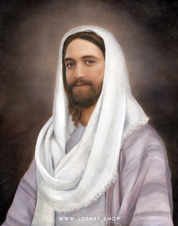 Jesus Christ – Rabboni – Painting Print