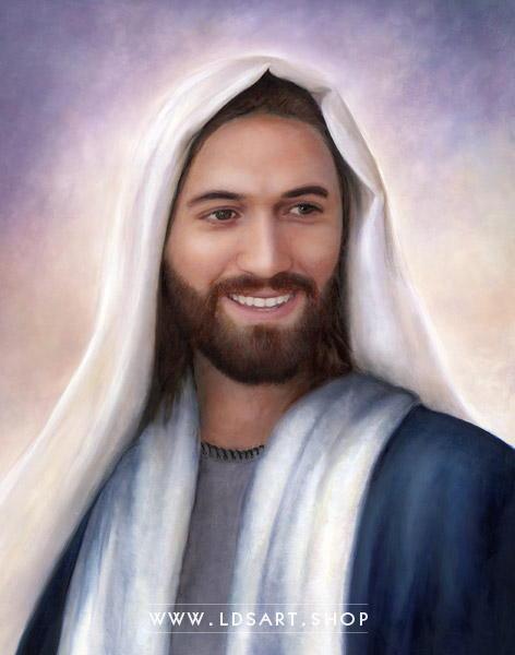 Jesus Christ – Rejoice Painting Print
