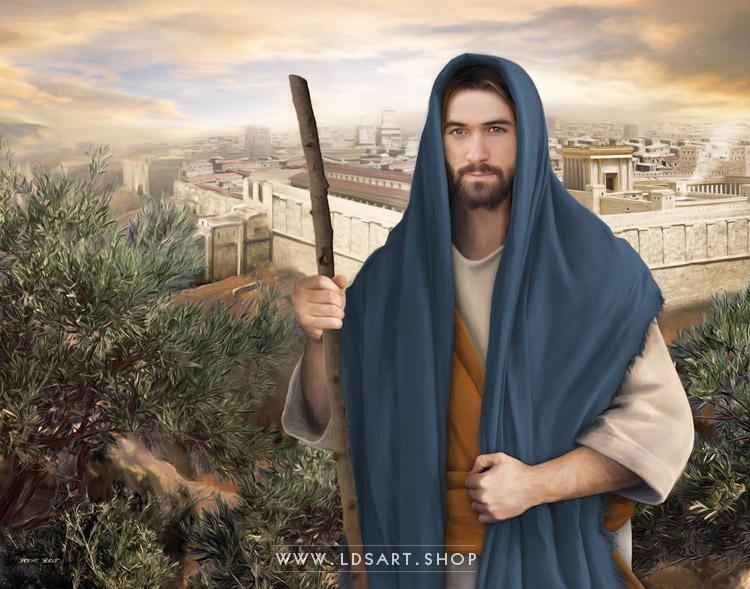Jesus Christ – Strength of Israel Painting Print