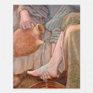 jesus-christ-washing-the-feet-painting-by-karen-foster