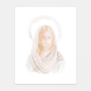 Jesus Christ - Watercolor Painting