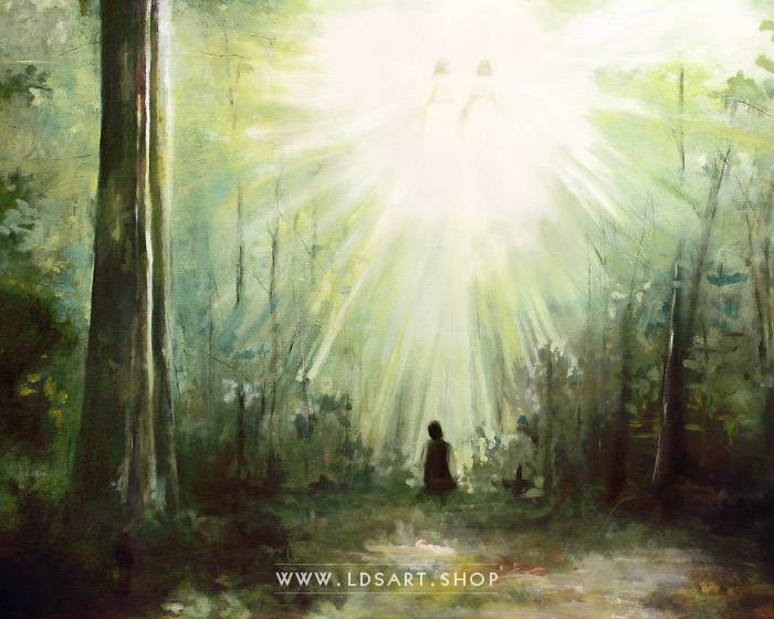 Joseph Smith – The First Vision Painting Print