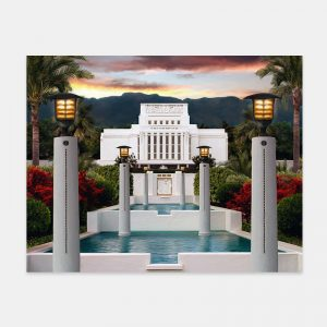 laie-temple-painting-summer-sunset