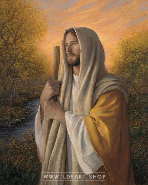 Loving Savior – Painting by Jon McNaughton Print