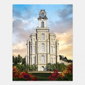 manti-temple-tower-of-the-lord-painting-by-brent-borup
