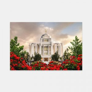 meridian-temple-sunrise-painting-by-brent-borup