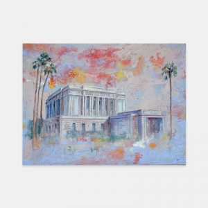 mesa-temple-fine-art-cold-wax-oil-painting