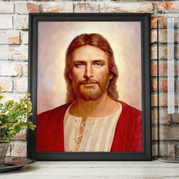 The Gentle Christ – Painting by Del Parson Mockup