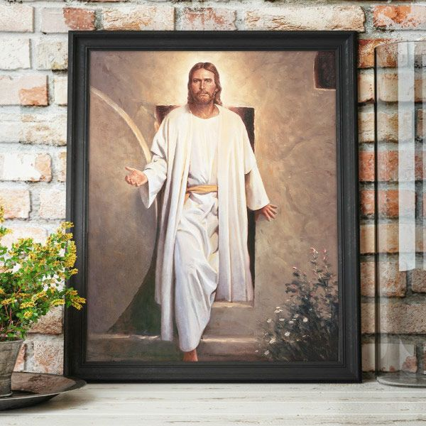 He Is Risen – Painting by Del Parson Mockup