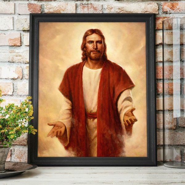 Hope in The Second Coming – Painting by Del Parson Mockup