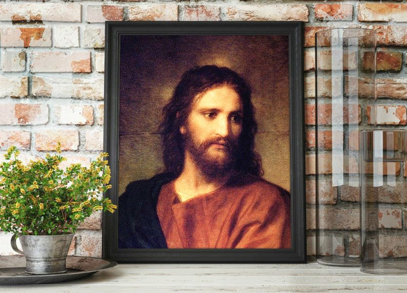 Christ at 33 – Painting by Heinrich Hofmann Mockup