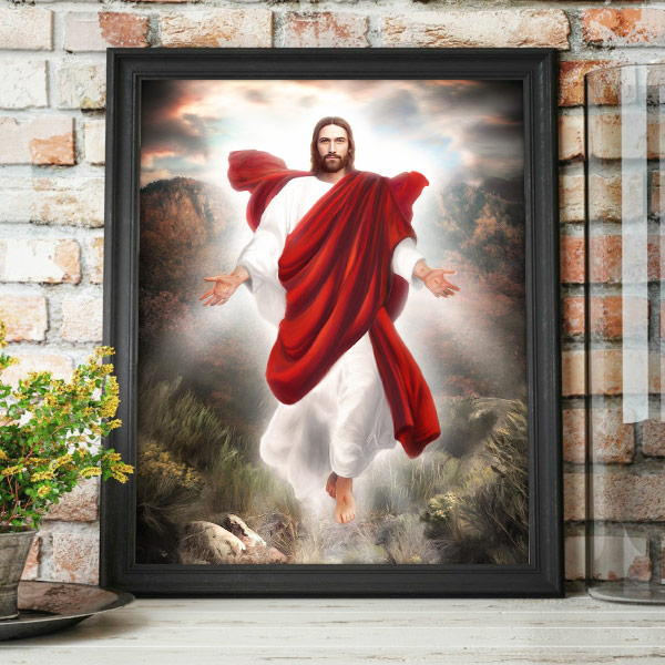 Jesus Christ – Second Coming Painting Mockup