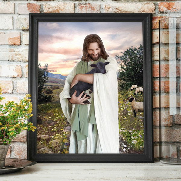 Jesus Christ – That Which Was Lost Painting Mockup
