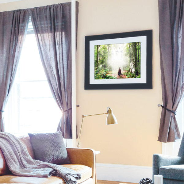 Joseph Smith – Pillar of Light Painting Mockup
