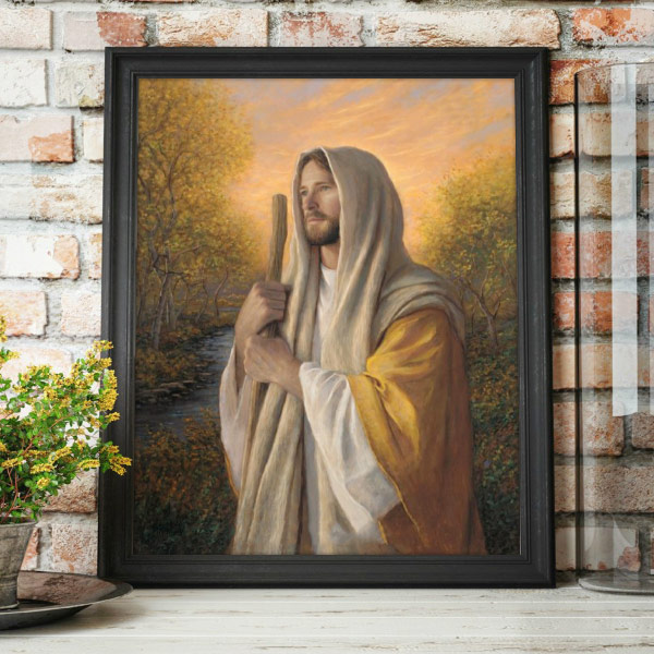 Loving Savior – Painting by Jon McNaughton Mockup