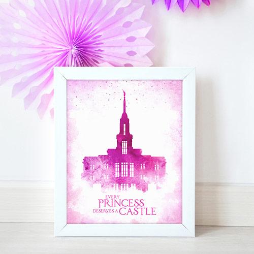 Payson Temple – Princess Castle Mockup