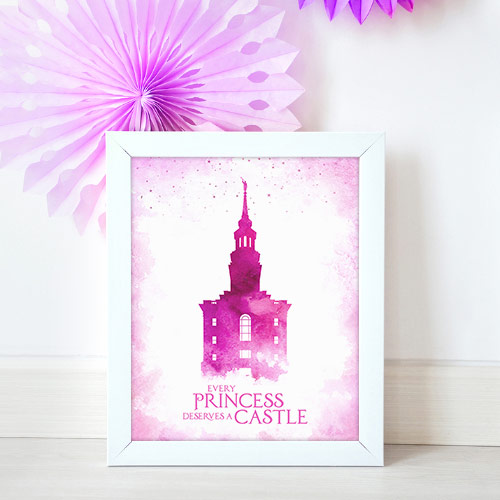 Philadelphia Temple – Princess Castle Mockup