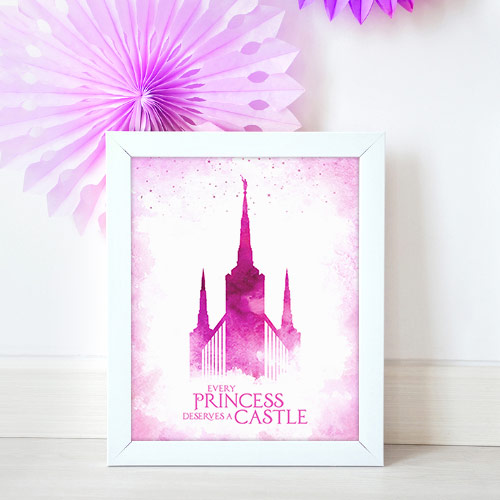 Portland Temple – Princess Castle Mockup