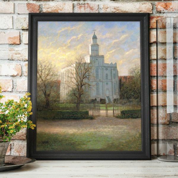 St. George Temple – Painting by Jon McNaughton Mockup