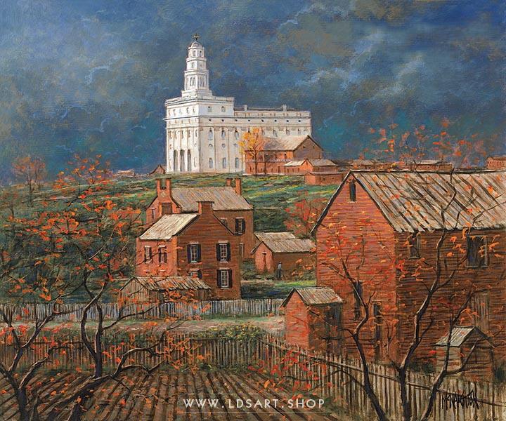 Nauvoo Remembered – Painting by Jon McNaughton Print