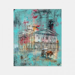 nauvoo-temple-being-built-fine-art-cold-wax-oil-painting