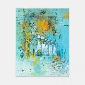 nauvoo-temple-fine-art-cold-wax-oil-painting