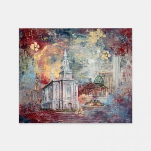 philadelphia-temple-fine-art-cold-wax-oil-painting