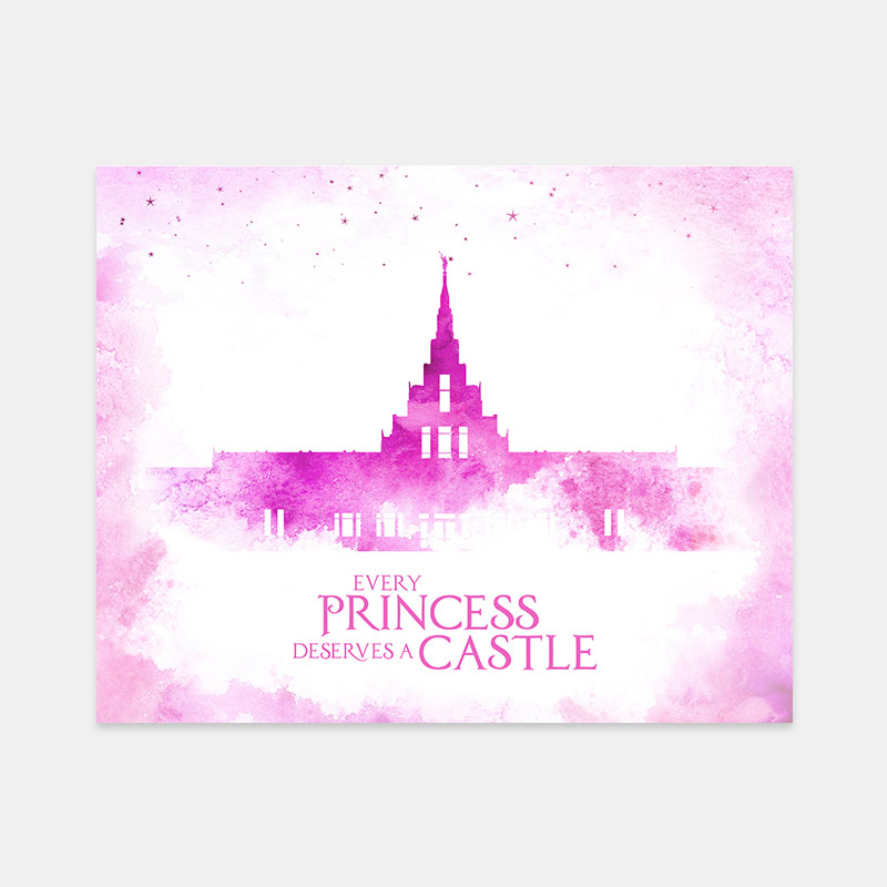Phoenix Temple – Princess Castle Print