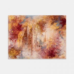 salt-lake-temple-autumn-leaves-fine-art-cold-wax-oil-painting
