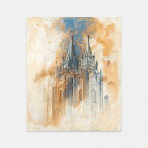 salt-lake-temple-fine-art-cold-wax-oil-painting