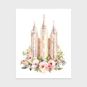 salt-lake-temple-watercolor-tausha-floral