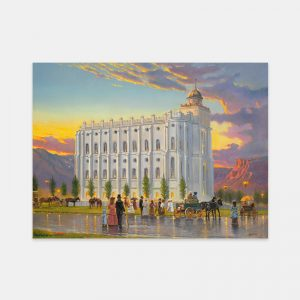 st-george-temple-historical-fine-art-painting