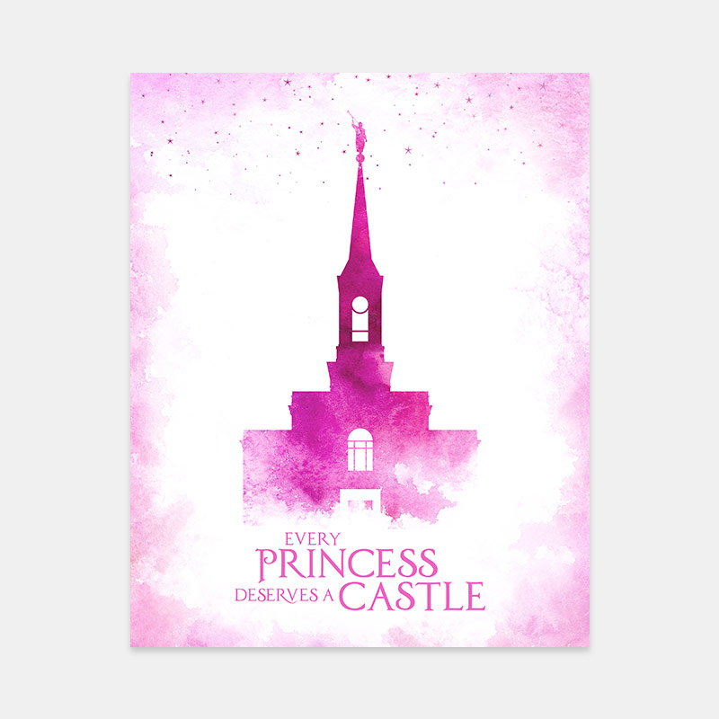 Star Valley Temple – Princess Castle Print