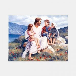 story-time-in-galilee-painting-by-del-parson